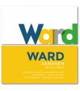 allermooiste geboortekaartjes met de naam ward in de kleuren blauw, geel, grijs en groen