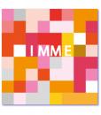exclusieve geboortekaartjes geinspireerd op het tetrisspel. Strak design babykaartje met een originele invalshoek