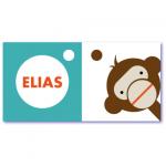 geboortekaart aapje elias