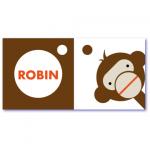 geboortekaart aap robin