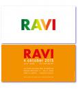 geboortekaart origineel is een kaartje met gekleurde letters in oranje en groene tinten