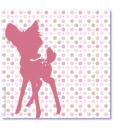 geboortekaartje bambi achterkant
