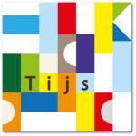 geboortekaartje blokkendoos met de naam tijs in de verschillende gekleurde blokjes