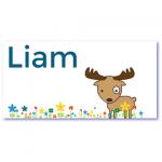 geboortekaartje eland met de naam liam. Ik wil een geboortekaartje in een Scandinavisch design/thema