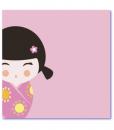 geboortekaartje kokeshi binnenzijde l