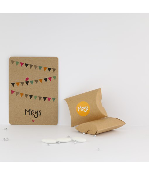 geboortekaartje origami