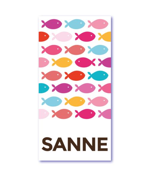 geboortekaartje vis met naam sanne. Wat is de laatste trend van geboortekaartjes: kleurrijke visjes