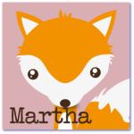 geboortekaartje vos