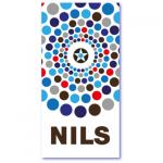 geometrische geboortekaartjes met de naam nils. Less is more geboortekaartje, niets meer en niets minder, gewoon heel mooi en strak