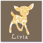hippe geboortekaartjes met de naam livia. Ik zoek originele geboortekaartjes uit belgie met een hertje