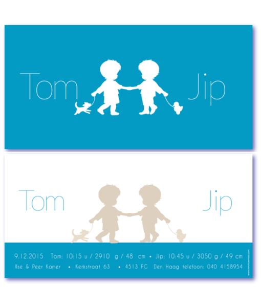 kaartje tweeling combi