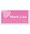 luxe trouwkaarten achterkant