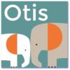 moderne geboortekaartjes met twee olifanten die symbool staan voor de gezinsuitbreiding. Geboortekaartje voor een stoere jongen