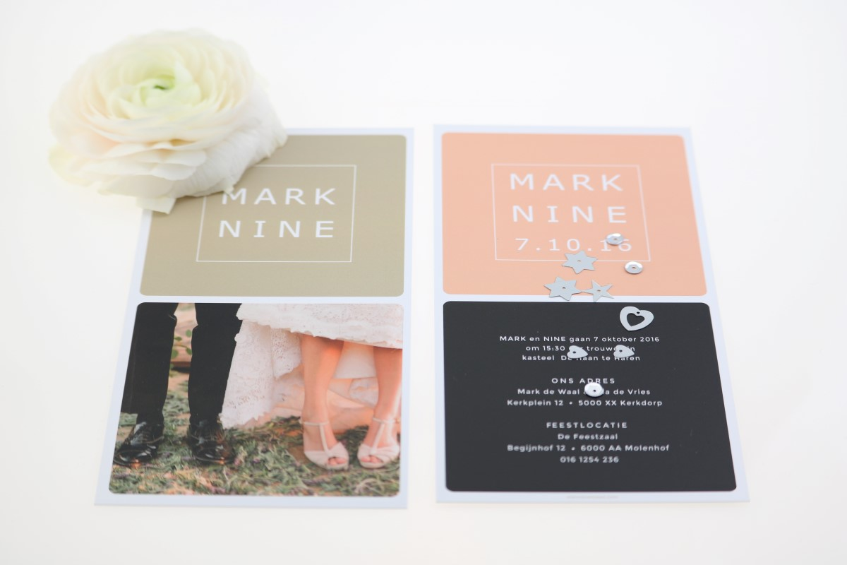 mooie trouwkaarten