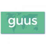 originele geboortekaarten met de naam guus. Een opvallend ontwerp, anders dan anders geen doorsnee bij mevr. Moos