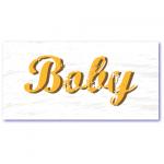 stoere geboortekaartjes boby