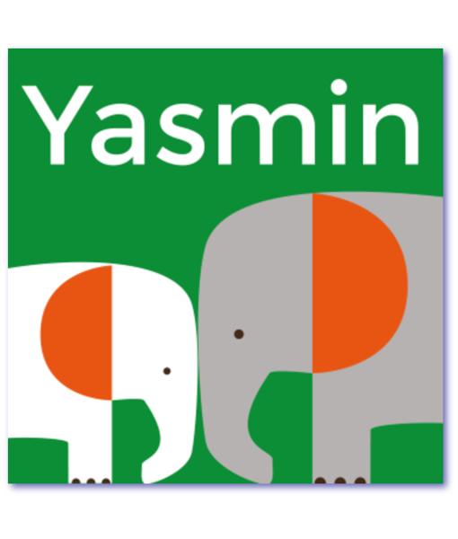 trendy geboortekaartjes yasmin